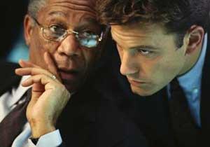 Морган Фримен делится секретами актерского мастерства с Беном Аффлеком